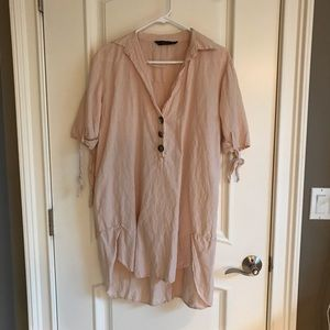 Zara high-low dress and/or cover up